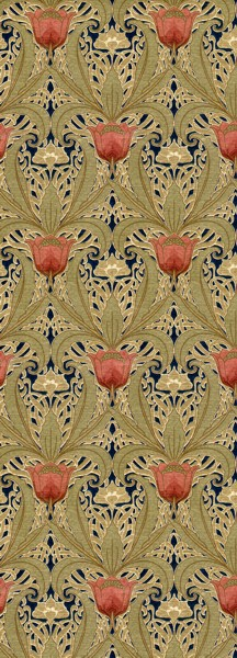 Art-Nouveau-Tulip-Garden-ca-–-Late-Victorian-Early-Arts-and-Craftst-wallpaper-wp423763