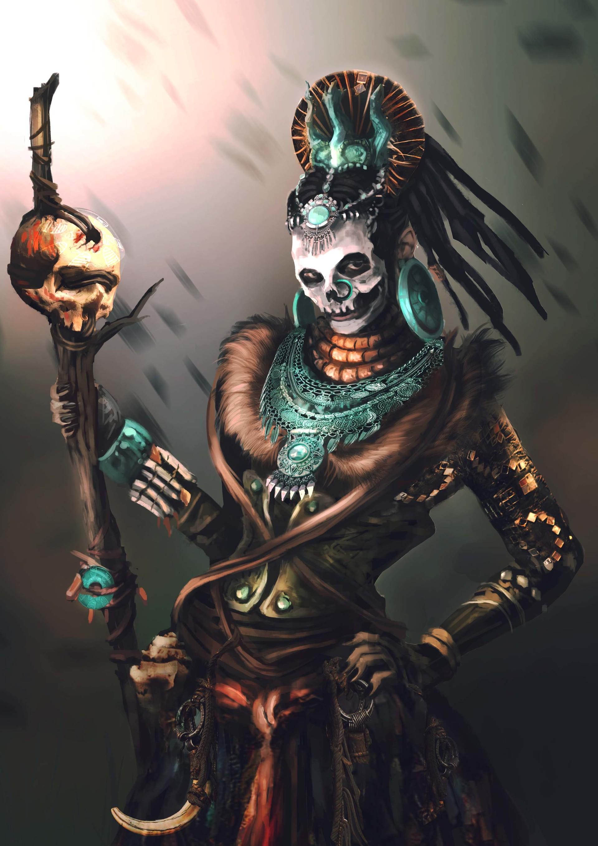 ArtStation-Voodoo-Priest-Inga-Siebert-wallpaper-wp4804344