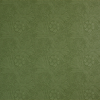 Arts-Crafts-Style-Floral-Wallpaper-Marigold-in-Forest-Green-wallpaper-wp4804342