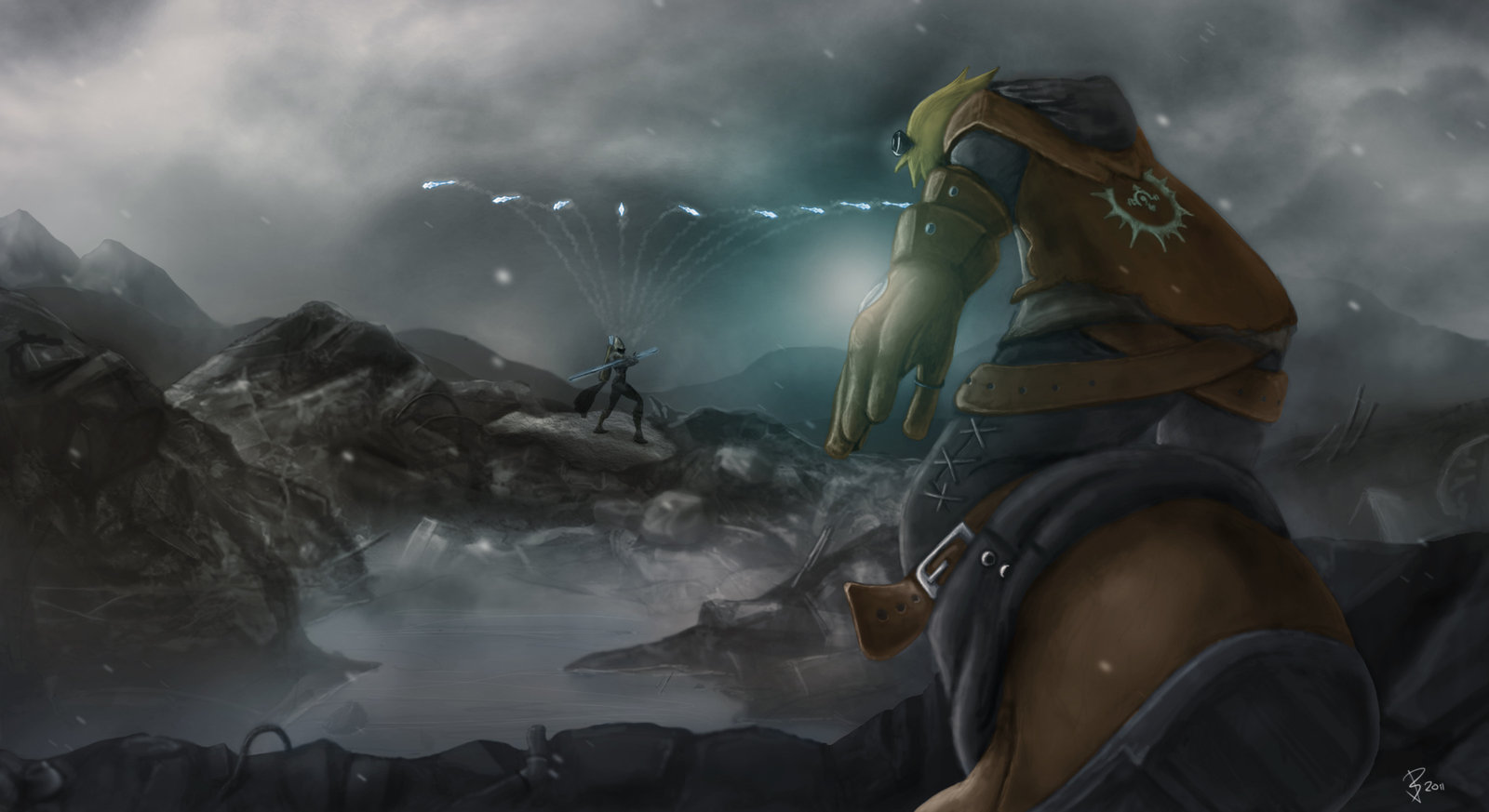 Ashe-vs-Ezreal-color-by-Skullhayate-deviantart-com-on-deviantART-wallpaper-wp4603809-1
