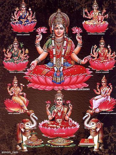 Ashta-Lakshmi-Maa-Goddess-of-Wealth-and-Prosperity-wallpaper-wp6002106