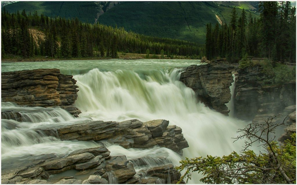 Athabasca-Falls-Jasper-National-Park-athabasca-falls-jasper-national-park-1080-wallpaper-wp3402654