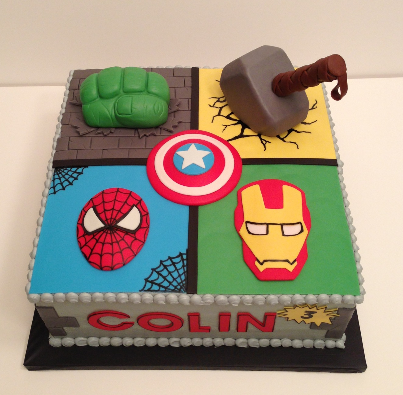 Avengers-cake-Hulk-fist-and-Thor-hammer-are-rice-cereal-treats-w-fondant-Made-by-www-KarensCustomC-wallpaper-wp3402731