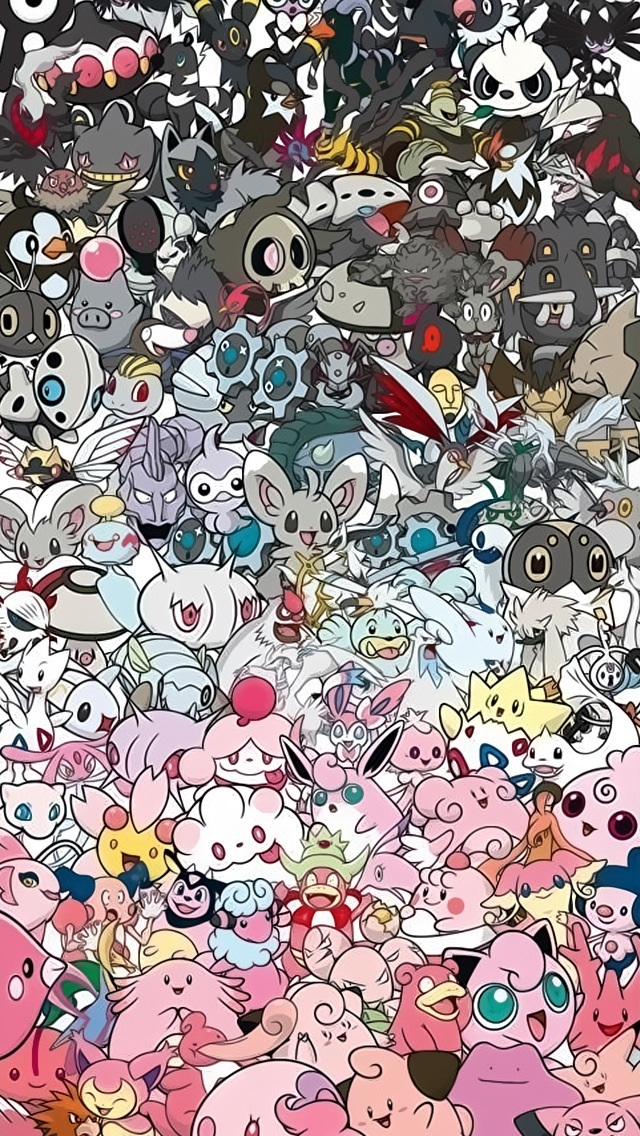 Awesome-Pokemon-Collection-Tap-for-more-Pokemon-Pattern-for-iP-wallpaper-wp4404705