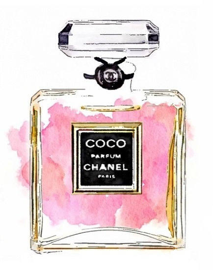 BIG-SIZE-Chanel-Perfume-Print-from-Watercolor-by-LAscandal-on-Etsy-wallpaper-wp5005255