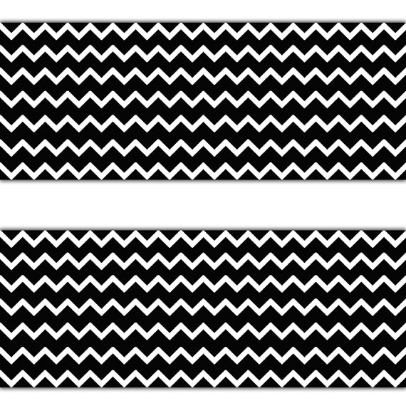 BLACK-CHEVRON-BORDER-Wall-Art-Decal-Gender-Neural-Nursery-Baby-Girl-Boy-Stickers-Decor-Chi-wallpaper-wp3003732