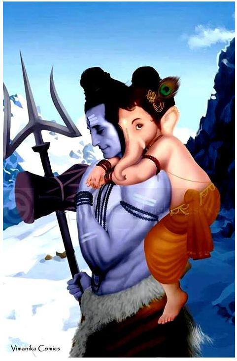 Bal-Ganesha-with-his-father-Shiva-wallpaper-wp4803717