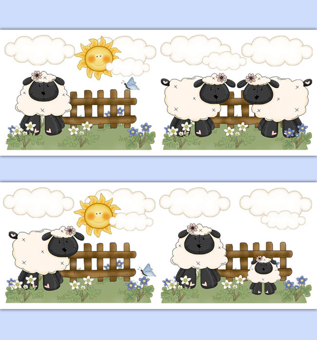 Barnyard-Farm-Animal-Sheep-Nursery-Border-Decal-Wall-Art-Lamb-Sticker…-wallpaper-wp5204438