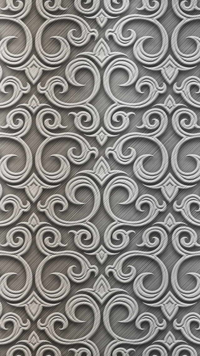 Baroque-Silver-Pattern-iPhone-wallpaper-wp3402865