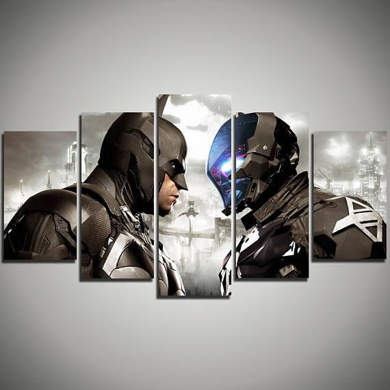 Batman-Arkham-City-extra-large-art-DC-Comics-large-canvas-print-Batmobile-art-canvas-Arkham-Kn-wallpaper-wp3602994
