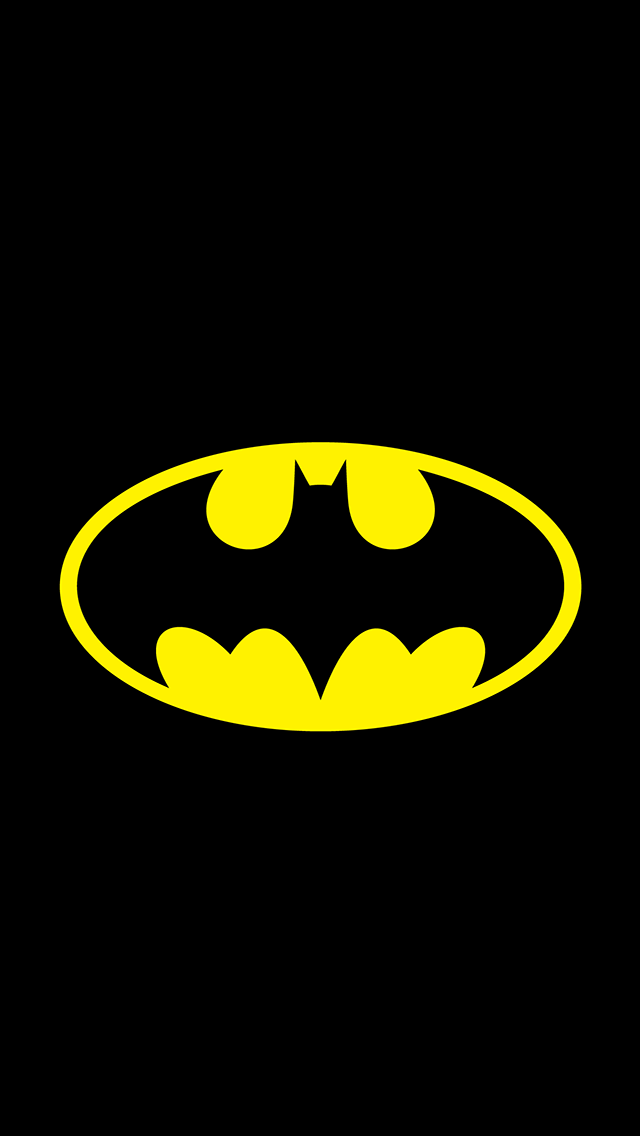 Batman-Logo-Superheroes-iPhone-mobile-wallpaper-wp6002237