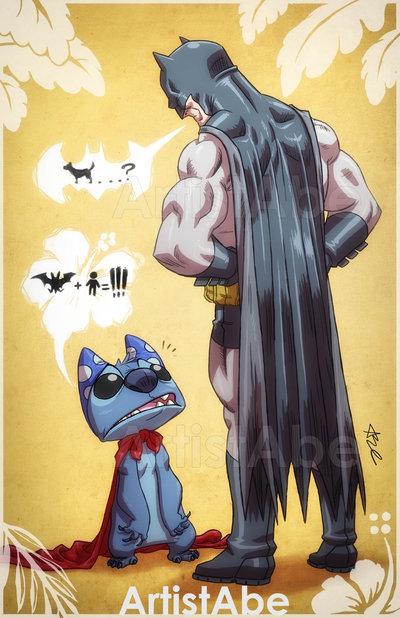 Batman-Meets-Stitch-in-Close-Encounters-of-the-Bat-Kind-—-GeekTyrant-wallpaper-wp423928