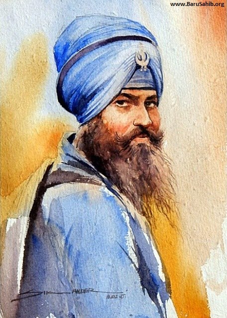 Beautiful-Art-Work-depicting-the-Portrait-of-Sikh-Warrior-Nihang-wallpaper-wp5005111