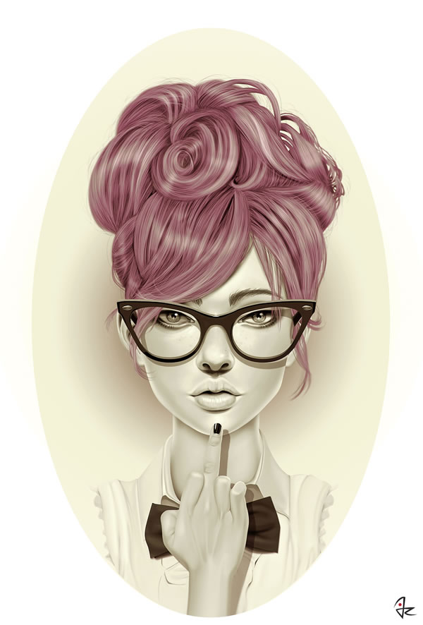Beautiful-Character-Design-by-Giulio-Rossi-wallpaper-wp3003543