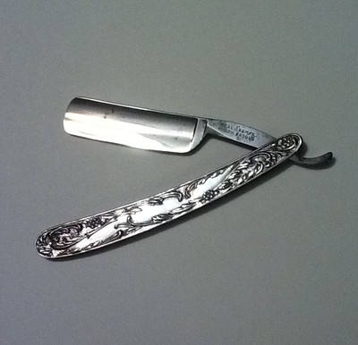 Beautiful-STERLING-SILVER-Straight-Razor-Barber-Shop-Shaving-Shave-Barbershop-eBay-wallpaper-wp4604134