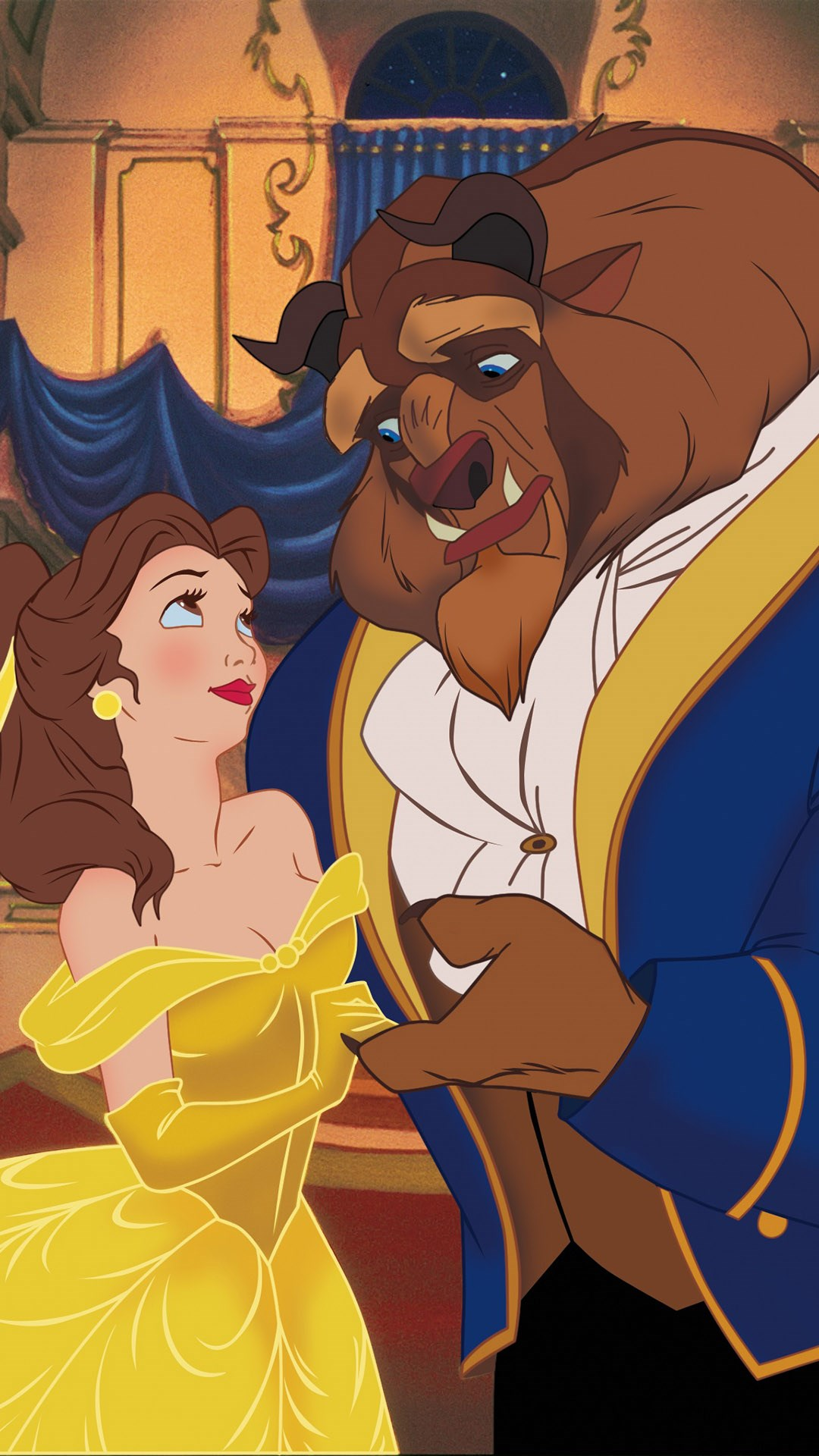 Beauty-And-The-Beast-Dancing-Anime-Love-Fairy-iPhone-wallpaper-wp5204527