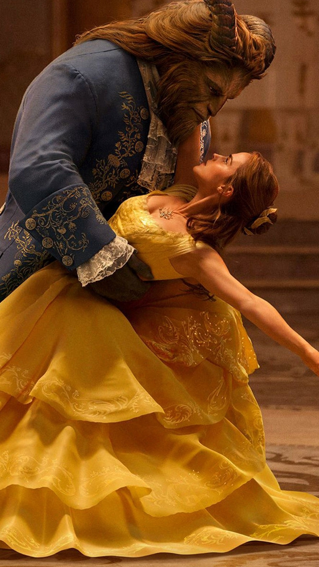 Beauty-And-The-Beast-Emma-Watson-Dancing-With-Prince-iPhone-s-wallpaper-wp424015