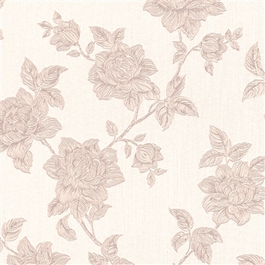 Beige-Floral-Tradition-traditional-floral-high-end-linen-textile-home-R-wallpaper-wp5403655