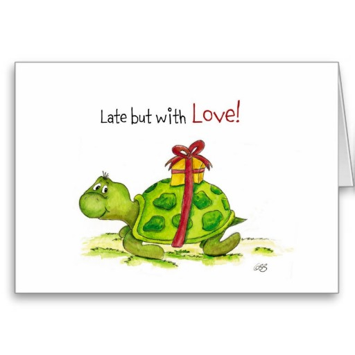 Belated-Birthday-Card-Late-but-with-Love-Turtle-Zazzle-wallpaper-wp3003608