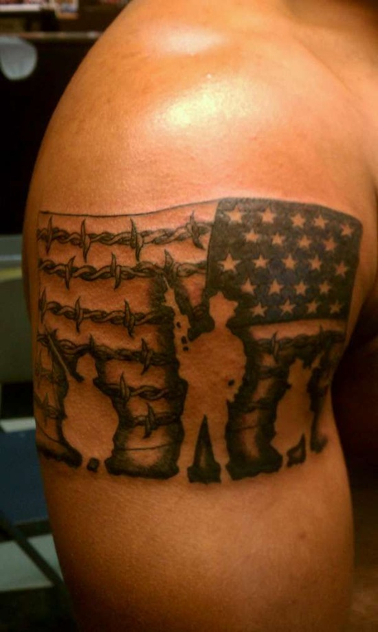 Best-Flag-Tattoos-Design-Soldier-And-American-Flag-Tattoo-Design-For-Men-On-Sleeve-Tattoo-Design-wallpaper-wp424078