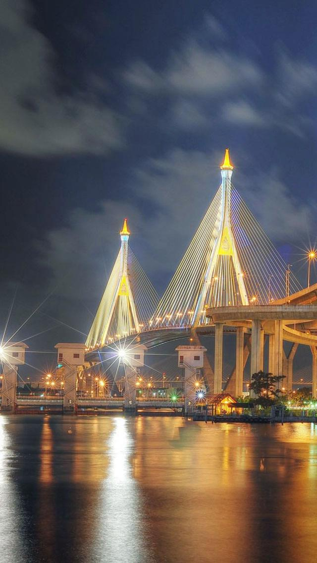 Bhumibol-Bridge-Bangkok-Thailand-wallpaper-wp3003696