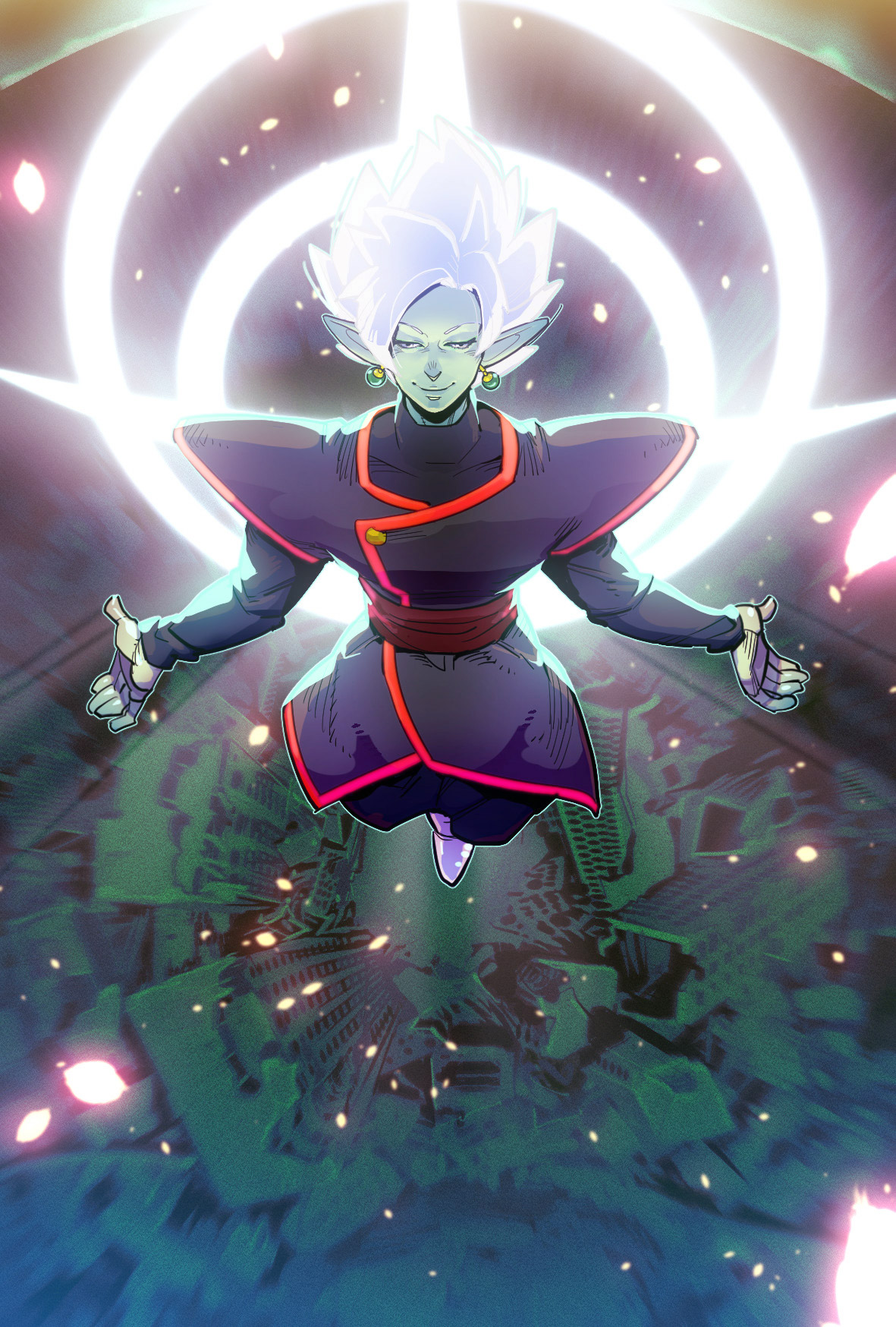 Black-Goku-and-Zamasu-fusion-wallpaper-wp5005296