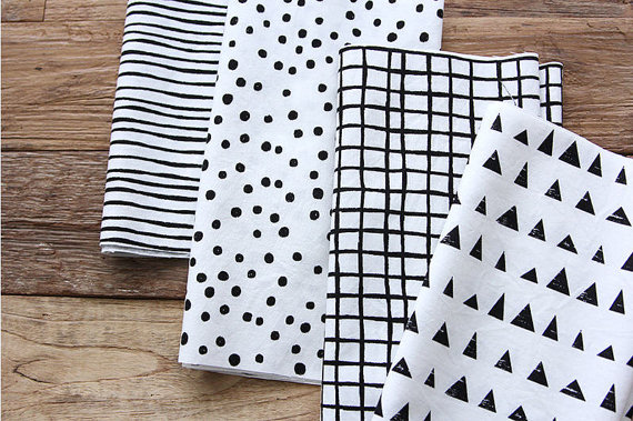Black-and-White-Cotton-Fabric-Geometric-By-the-Yard-wallpaper-wp5204676