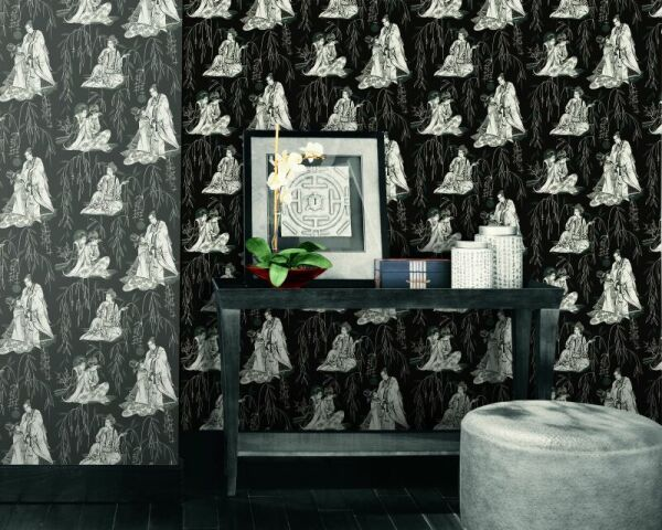 Black-and-White-source-Vision-Wallcoverings-Australia-The-Ivory-Tower-wallpaper-wp5001460