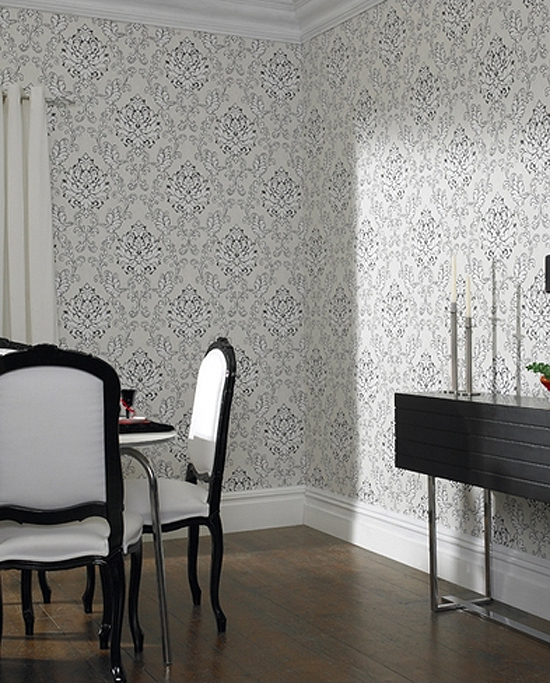 Black-and-white-damask-Take-a-traditional-pattern-and-make-it-modern-wallpaper-wp3403274