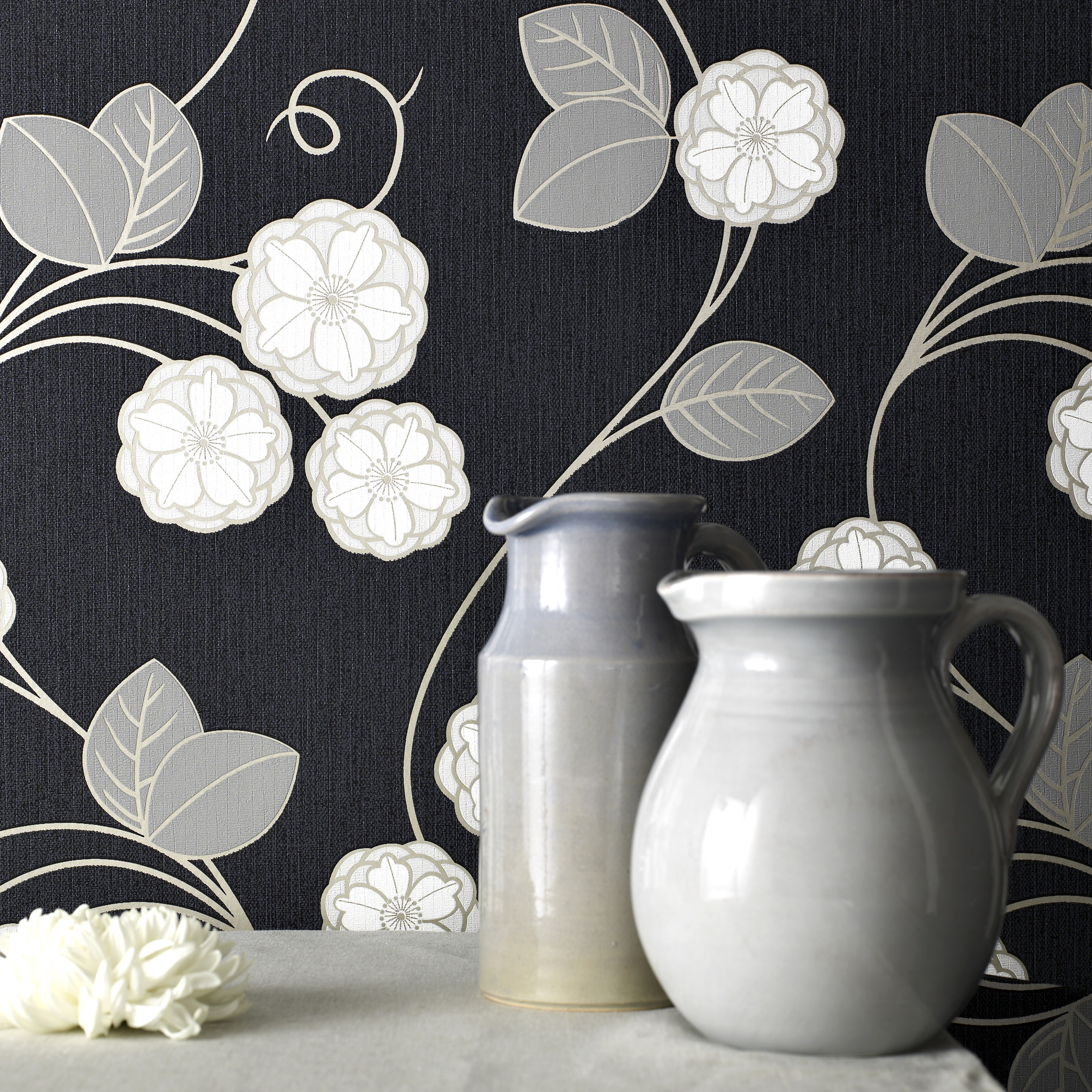 Black-and-white-style-bloom-wallpaper-wp5403713