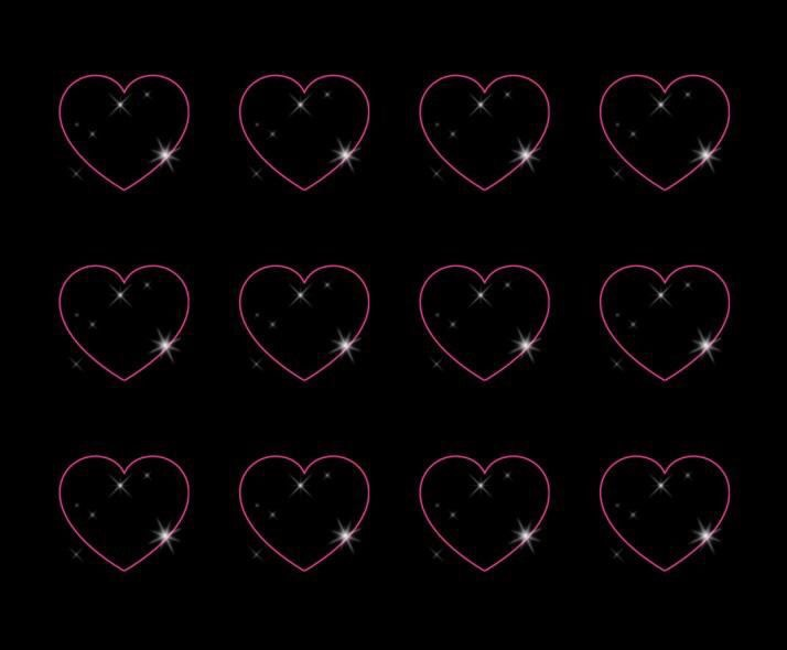 Black-background-pink-hearts-wallpaper-wp4604272