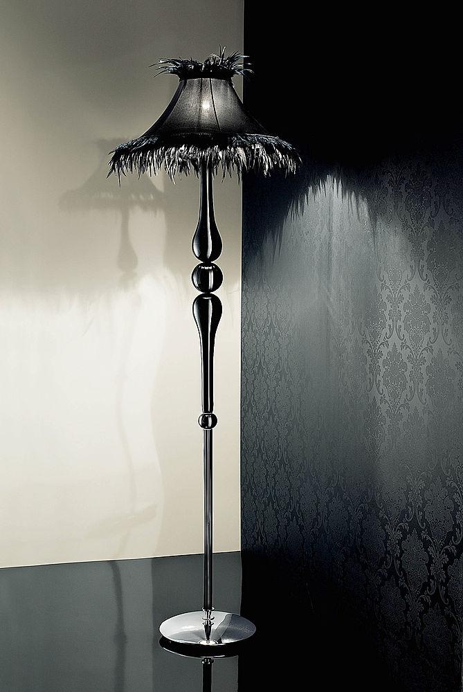 Black-feather-floor-lamp-wallpaper-wp3003738