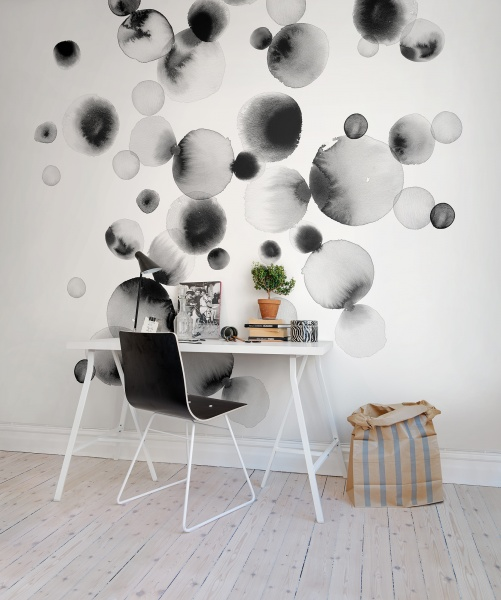 Black-watercolor-bubbles-Celestial-Ink-a-with-black-dots-and-circles-by-Rebecca-Elfast-wallpaper-wp5204705