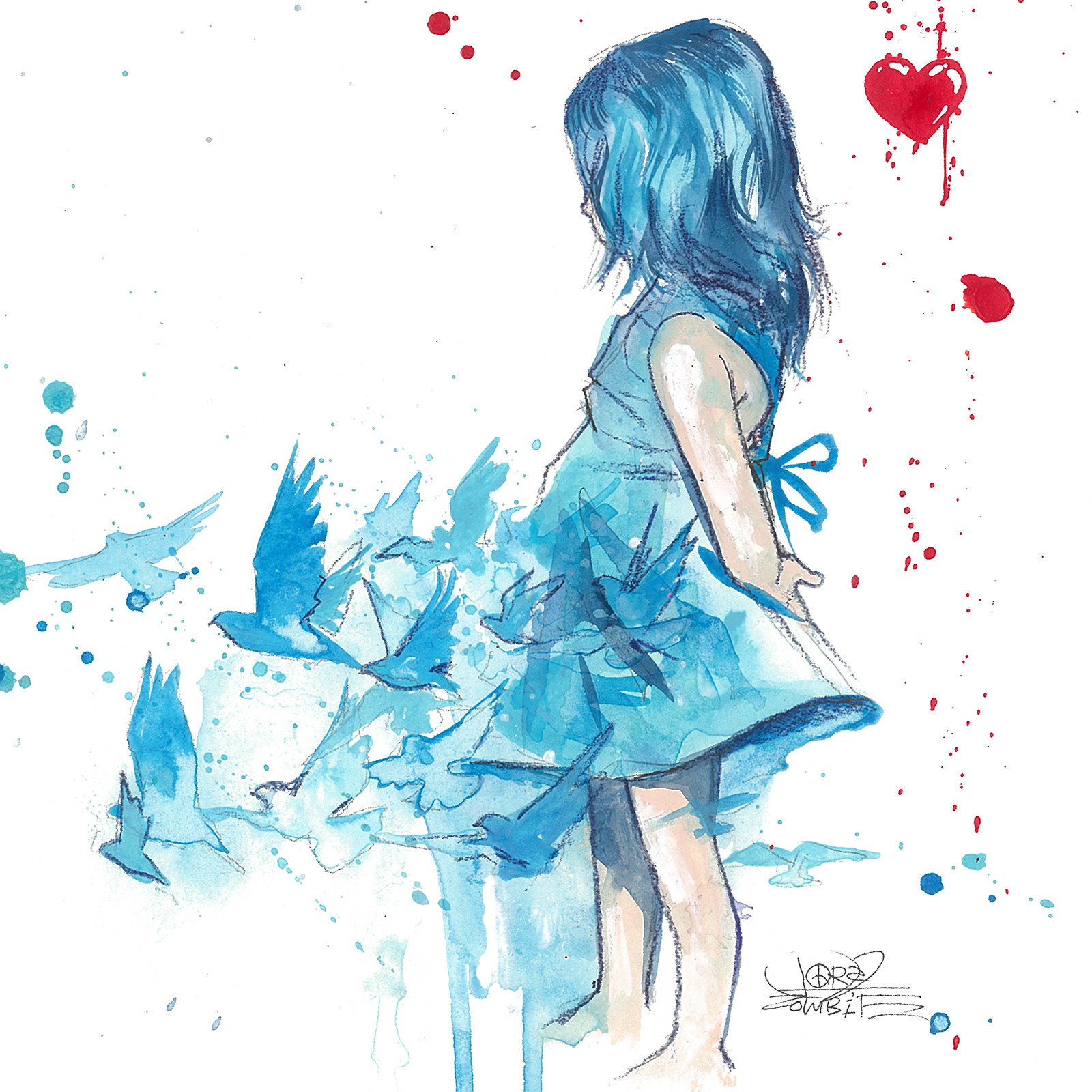 Blue-Girl-by-Lora-Zombie-Prints-available-at-EyesOnWalls-com-wallpaper-wp5603487