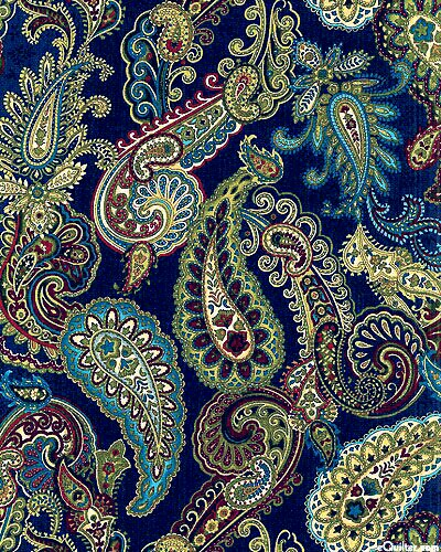 Blue-Paisley-kind-of-day-wallpaper-wp3401561
