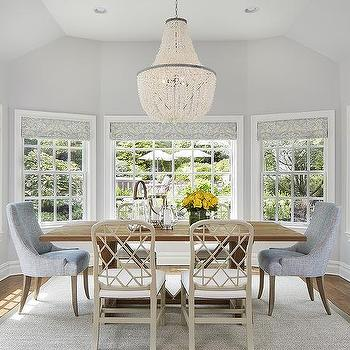 Blue-and-Grey-Dining-Room-with-Damask-Roman-Shades-wallpaper-wp4604308