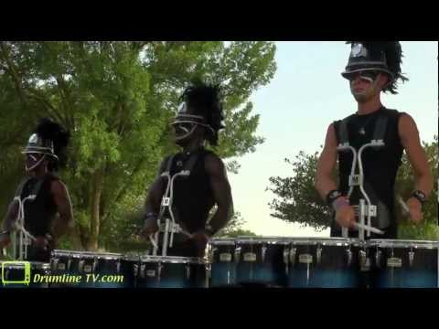 Bluecoats-drumline-warmup-in-the-Lot-wallpaper-wp4602690