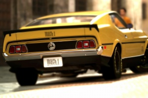 Blurred-Background-Cars-Ford-Mustang-Rear-Angle-View-wallpaper-wp3603560