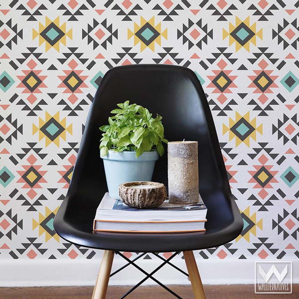 Bold-Aztec-Print-Removable-for-Colorful-Geometric-Wall-Decor-Wallternatives-wallpaper-wp5403776