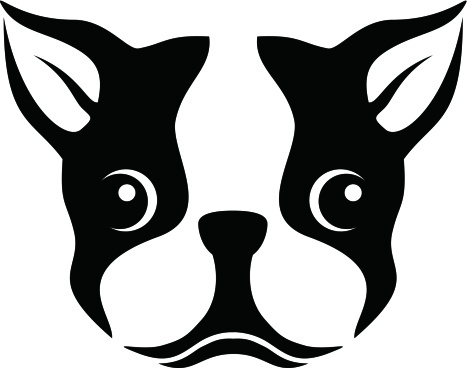 Boston-Terrier-Silhouette-Stencil-Clipart-wallpaper-wp5403793