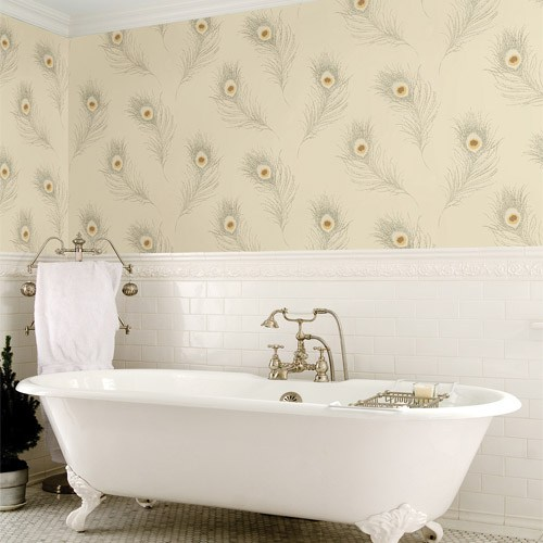 Brewster-Kitchen-Bed-Bath-Peacock-Feather-wallpaper-wp5005449