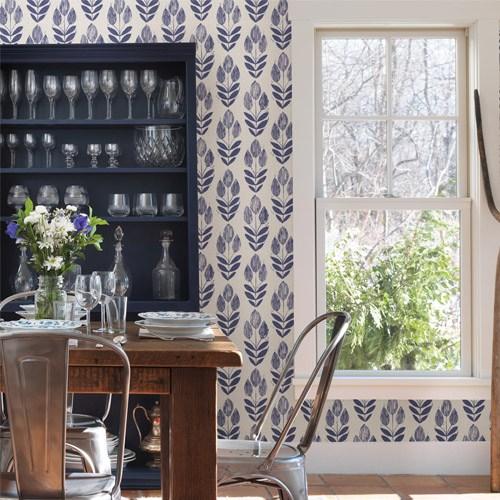 Brewster-Simple-Space-Block-Print-Tulip-wallpaper-wp5005450