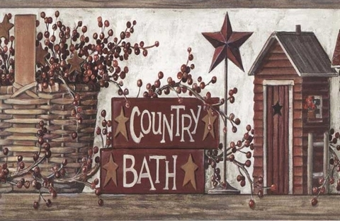 Brown-Country-Wash-Room-Wall-Border-Border-Border-wallpaper-wp5603605