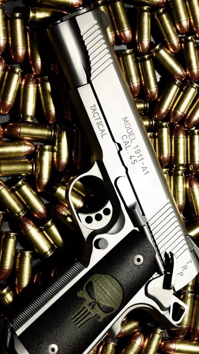 Bullet-Stack-Gun-Weapon-Military-iPhone-s-wallpaper-wp424291