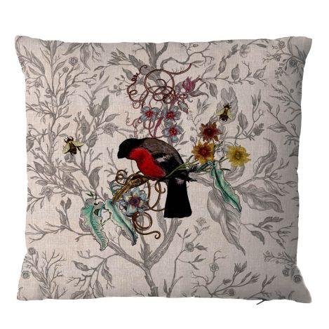 Bullfinch-cushion-Timorous-Beasties-wallpaper-wp424292