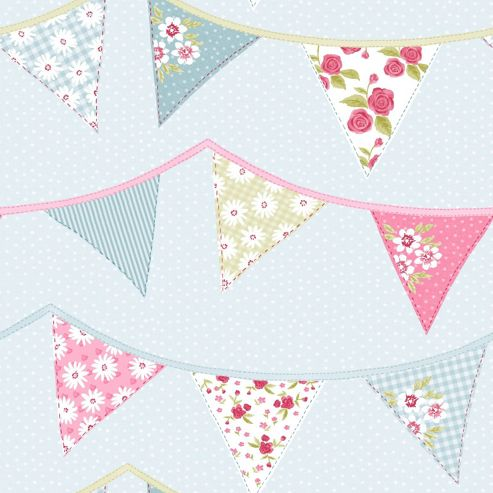 Bunting-Wallpaper-Blue-wallpaper-wp4804941
