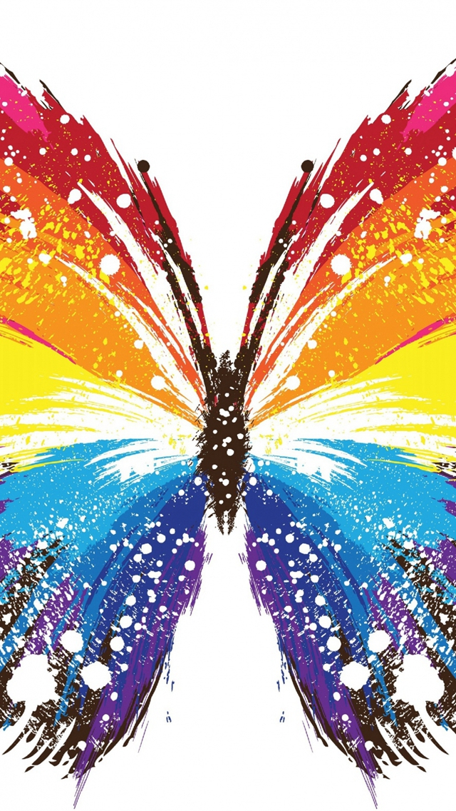 Butterfly-Abstract-Colorful-Patterns-iPhone-s-wallpaper-wp42188