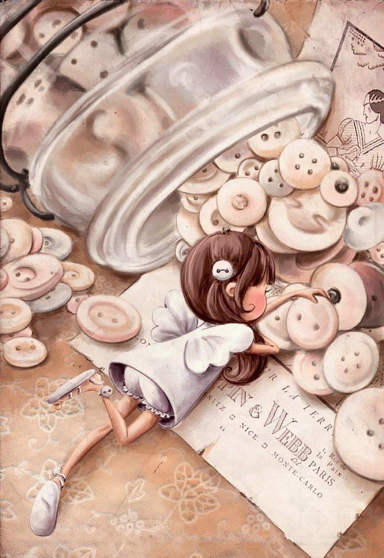 Button-Fairy-art-Elina-Ellis-wallpaper-wp6002539