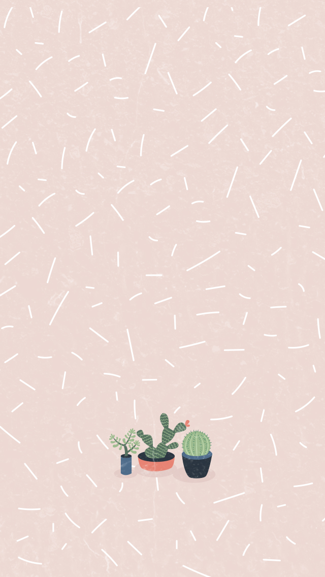 Cactus-Girl-Pastel-iPhone-Home-PanPins-wallpaper-wp4405518