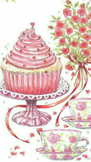 Cake-at-a-teaparty-wallpaper-wp4805050